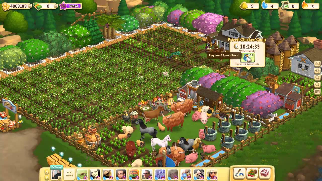 farmville 2 reaching level 56 level up video youtube