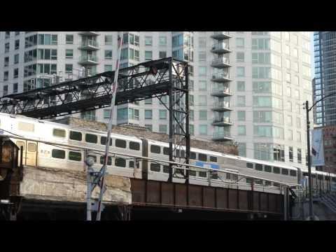 シカゴ通勤鉄道メトラUP線 Chicago metropolitan area commuter railroad