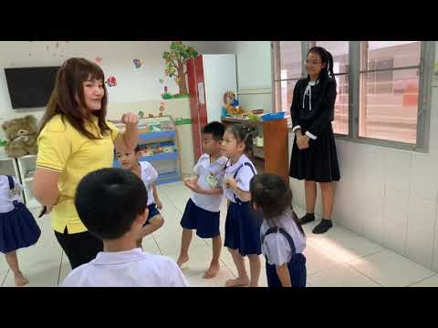 "English ""Kids Brown Wings"" Class @Suwawan Kindergarten K.3 #อนุบาลสุวาวรรณ by #ศูนย์นวัตกรรมการศึกษา"