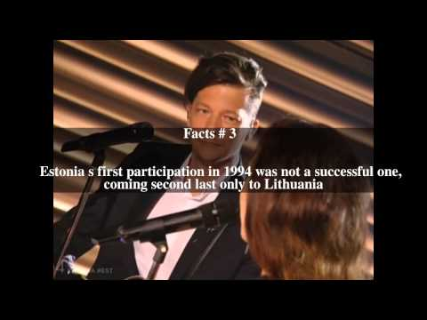 Estonia in the Eurovision Song Contest Top # 6 Facts