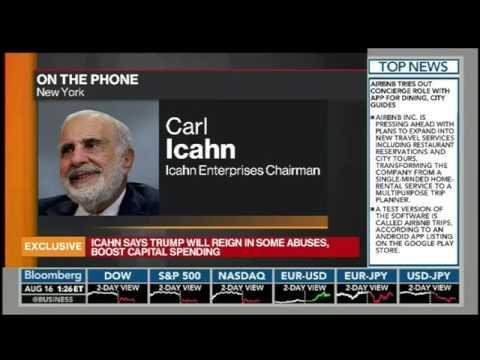 #BeYourOwnBank: Carl Icahn telling it like it is