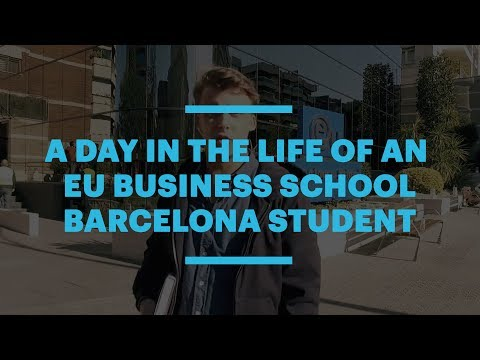 A Day in the Life of an EU Business School Barcelona Student