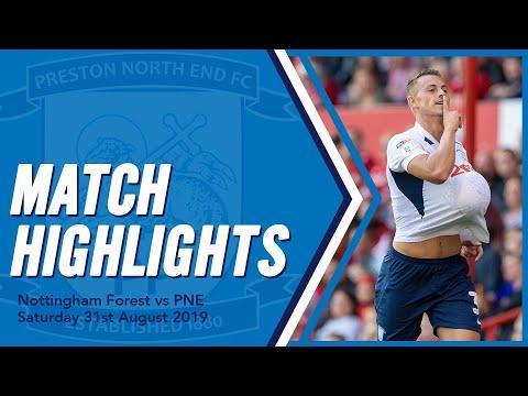 Highlights: Nottingham Forest 1 PNE 1