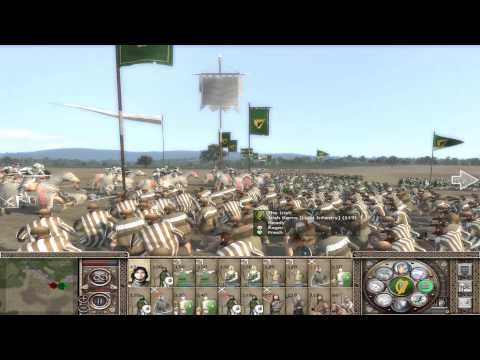 "Let`s Play Medieval 2 Total War: Rule Britannia ""Saor Éire"" #2"