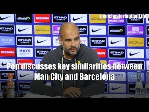 Key similarities between the 2017/18 Man City team and Pep Guardiola's classic Barcelona team