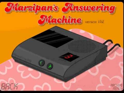 marzipan s answering machine