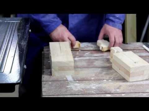 Jak zbudować tokarkę do drewna część 1 / DIY