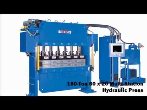 Automated Hydraulic Presses