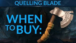 WHEN to Buy Quelling Blade?! | Dota 2 Guide