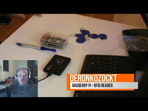 Raspberry Pi NodeJS AngularJS RFID Reader