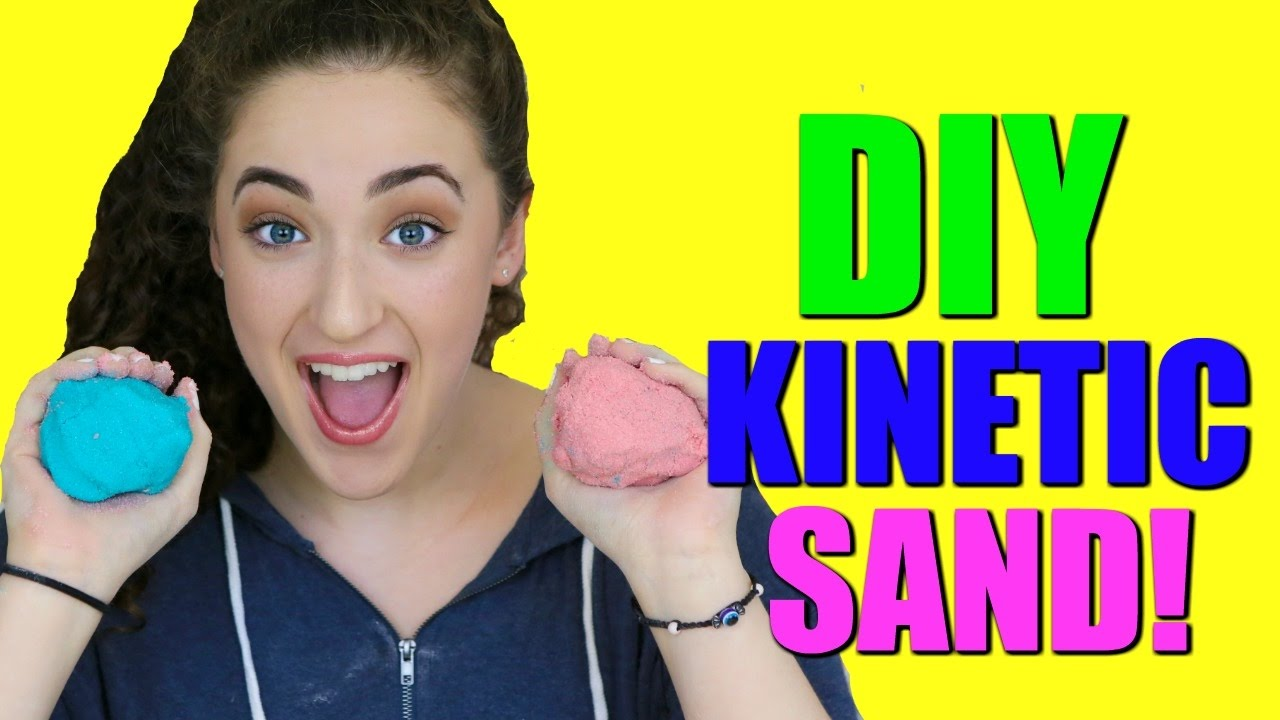 diy kinetic sand how to make homemade kinetic sand youtube. Black Bedroom Furniture Sets. Home Design Ideas