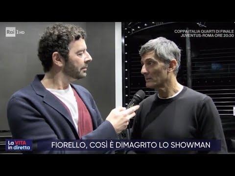 Adele e Fiorello: due modi per perdere peso - La vita in diretta 22/01/2020