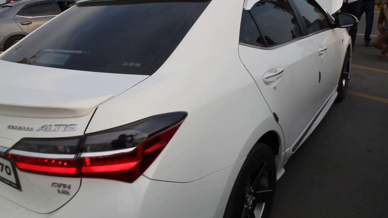 Toyota Corolla Atlis Grande Facelift Fully Modified Youtube