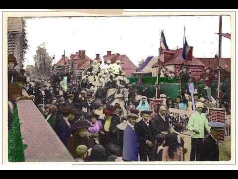 Film sur Saint-Nicolas d'Aliermont au temps des cartes postales 1900