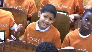 "PS22 Chorus ""Nights In White Satin"" The Moody Blues"
