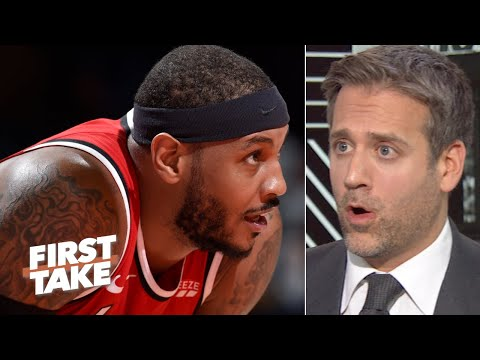Max Kellerman responds to La La: I don't owe Carmelo Anthony an apology | First Take