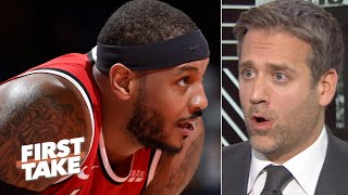 Download Max Kellerman responds to La La: I don't owe Carmelo Anthony an apology | First Take Mp3 and Videos