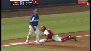 Tope Cuba vs Nicaragua juego 2