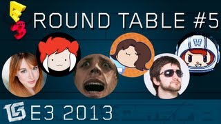TGS E3 Live Round Table #5 - w/ Arin & Barry of GameGrumps, Criken, Dodger, Lisa Foles, and Holly!
