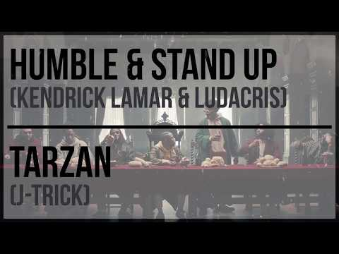 Kendrick Lamar & Ludacris - Stand Up & Humble Vs J-Trick - Tarzan (Mashd N Kutcher Mashup)