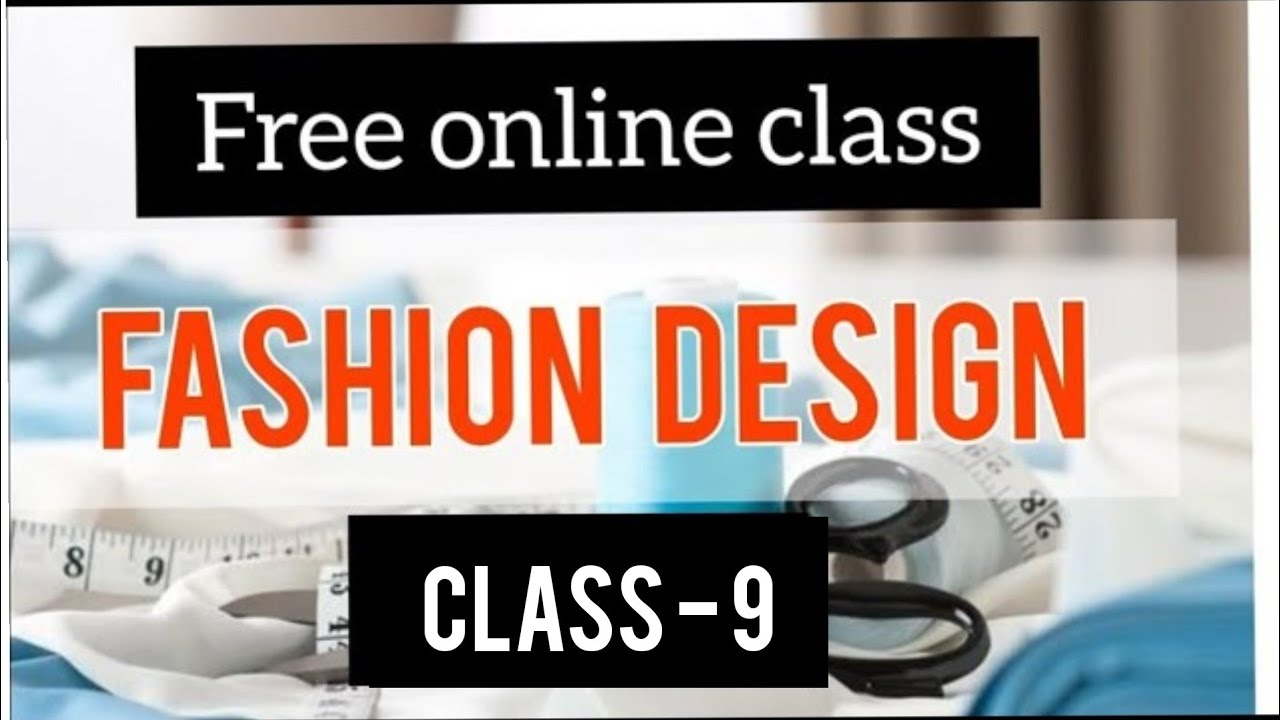 Online Fashion Design Coures Subject S Details Practice Class 6 Line Texture Pattern Youtube