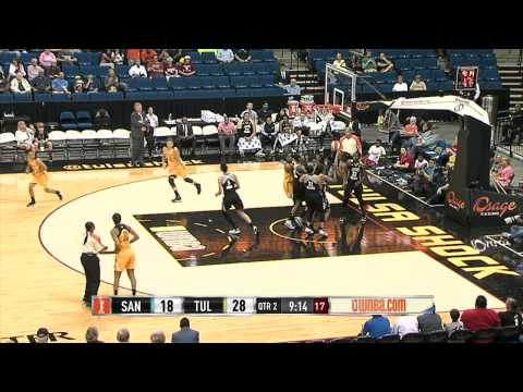 Tulsa Shock Set Franchise Record with 6-Game Winning Streak