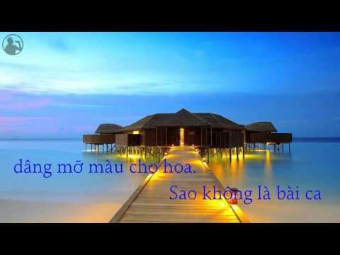 Karaoke Khát Vọng Phạm Minh Tuấn   Cẩm Vân   YouTube
