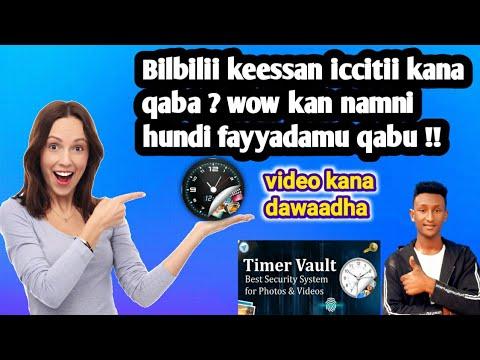Wow Iccitii Ajaa'iba Kana Dawaadha !! Clock Vault #otselsay
