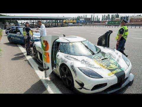 Police NOT HAPPY – SPEEDING in a $5.4M Koenigsegg!