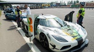 Police NOT HAPPY - SPEEDING in a $5.4M Koenigsegg!