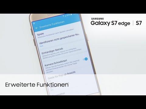 Samsung Galaxy S7 / S7 edge: Erweiterte Funktionen