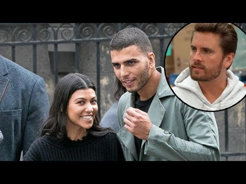 Mira cómo Scott Disick enloquece porque Kourtney Kardashian está con otro hombre