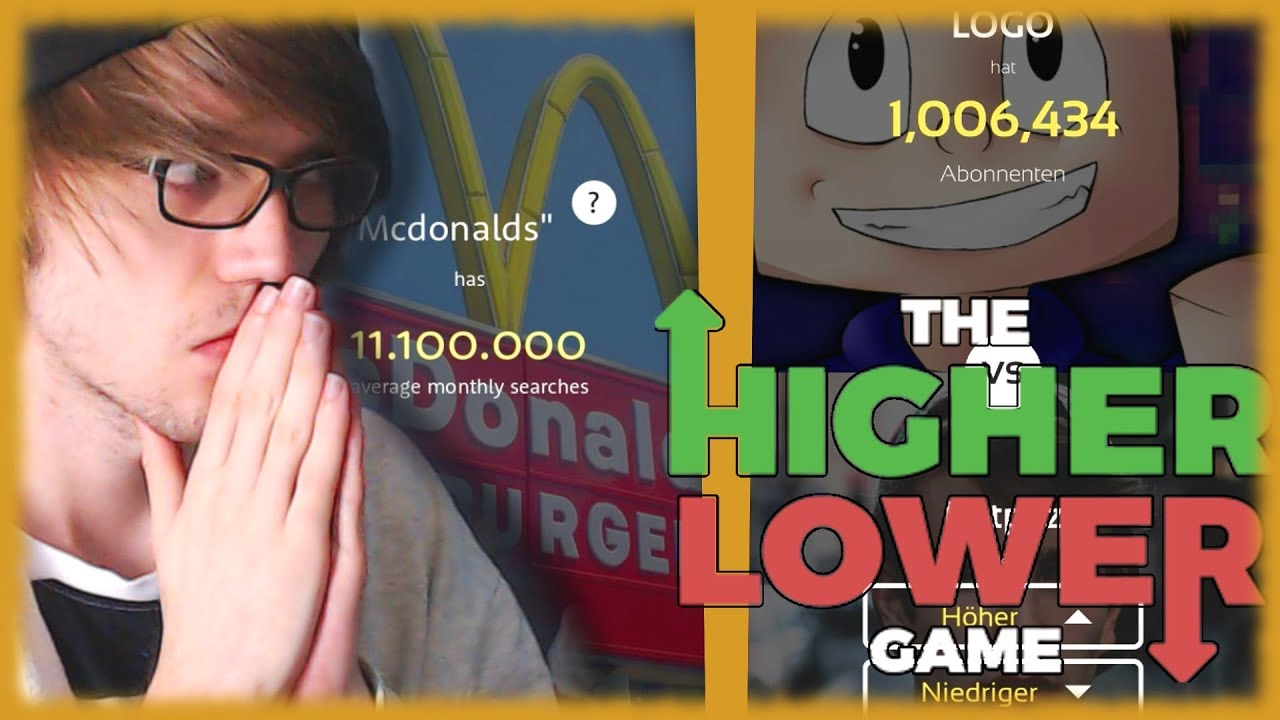 Higher Lower Game Deutsch