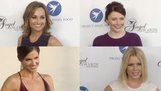Giada De Laurentiis, Bryce Dallas Howard, Carrie Keagan, Tricia Helfer 2013 Angel Awards
