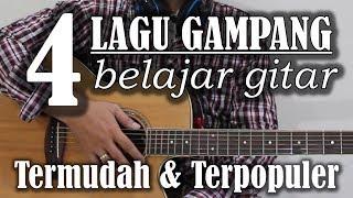 4 lagu gampang untuk belajar gitar pemula