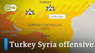 Turkey invades Syria: Who are the players and what do they want? | DW News