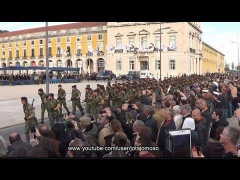 Desfile do Corpo de Fuzileiros Navais da Armada Portuguesa /