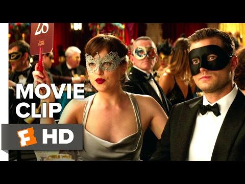 Fifty Shades Darker Movie CLIP - Ana Bids on a Ski Trip (2017) - Dakota Johnson Movie