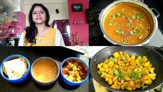 Download Indian Mom Morning Routine| Dal Makhani, Aloo Gobhi, INDIAN LUNCH BOX ROUTINE 2019, Tiffin Box Ideas Mp3 and Videos
