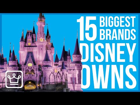 15 Biggest Brands Disney Owns