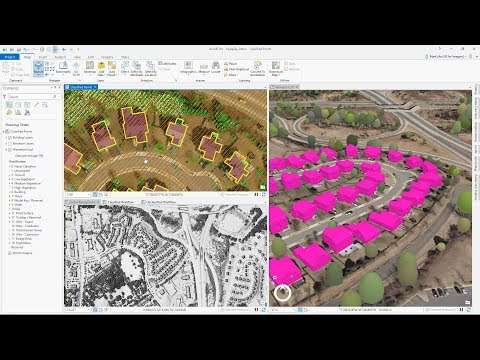 Creating 3D GIS from Imagery and Lidar