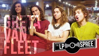 Greta Van Fleet on the ultimate vinyl haul   The LP Spree