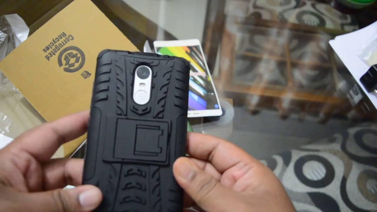 online retailer 08d4e 36289 Redmi Note 3 Back cover unboxing