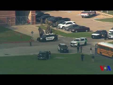 Au moins 8 morts lors d'une fusillade dans un lycée du Texas (vidéo)