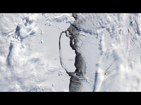 Dan por desintegrado el mayor iceberg del mundo