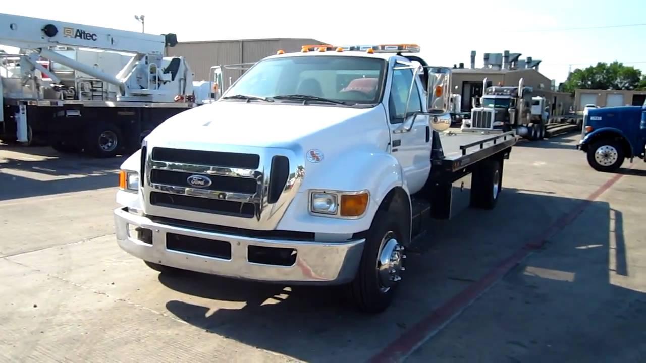 2011 ford f650 rollback wrecker tow truck jerr dan 214 228 4487 new