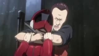 GITS: AAA - Ghost Whispers Part 2 - Pazu vs Motoko