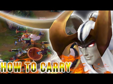 HOW TO CARRY WITH AATROX GAMEPLAY - SOMETIMES I THINK THAT... I´M THE BEST