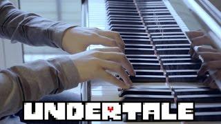 Undertale OST - Fallen Down / Reprise -  (Piano Cover)