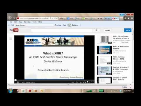 Accounting in Digital Era: XBRL (Extensive Business Reporting Language) - 7/15/13